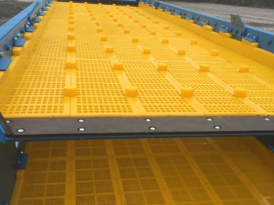 TEMA Isemann's ground breaking WS2.10 polyurethane wear lining system is compatible with the Ispren WS85 modular screen panels