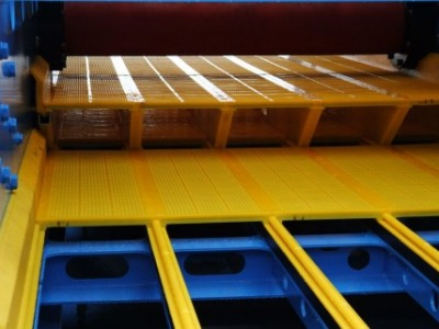 ISEPREN WS 85 - Tandem Deck installation ensures efficient screening.
