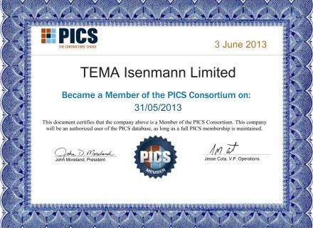 Tema Isenmann joins the PICS Consortium