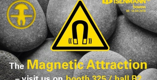'The Magnetic Attraction' at Bauma 2019