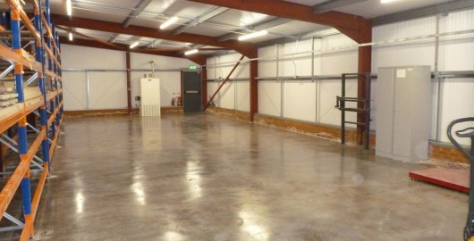 New warehouse almost set to go!